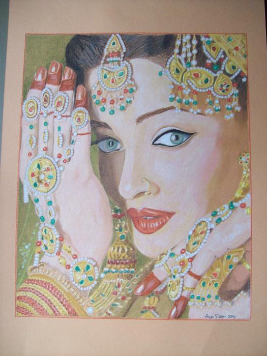 Aishwarya Rai por anjasteen